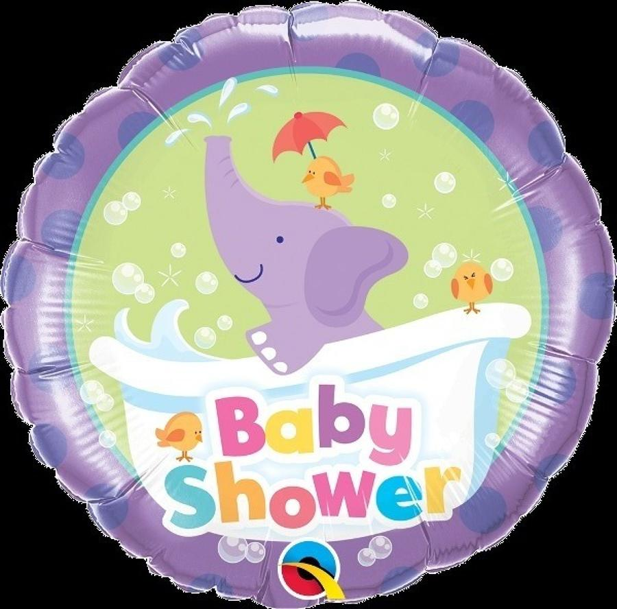 Baby shower elephant balloon