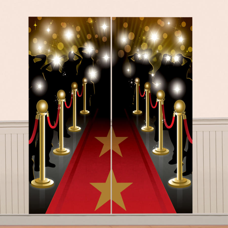 Hollywood scene setter - wall decoration