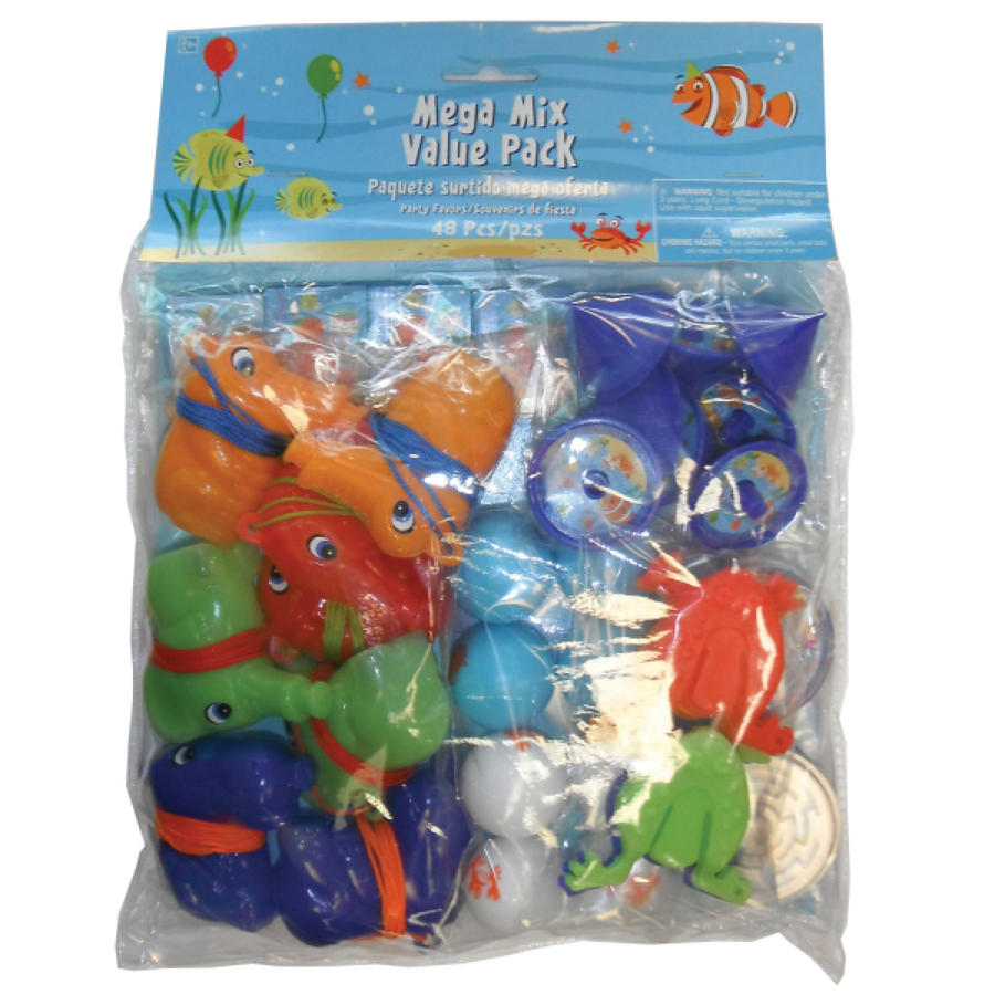 Ocean theme party bag gifts