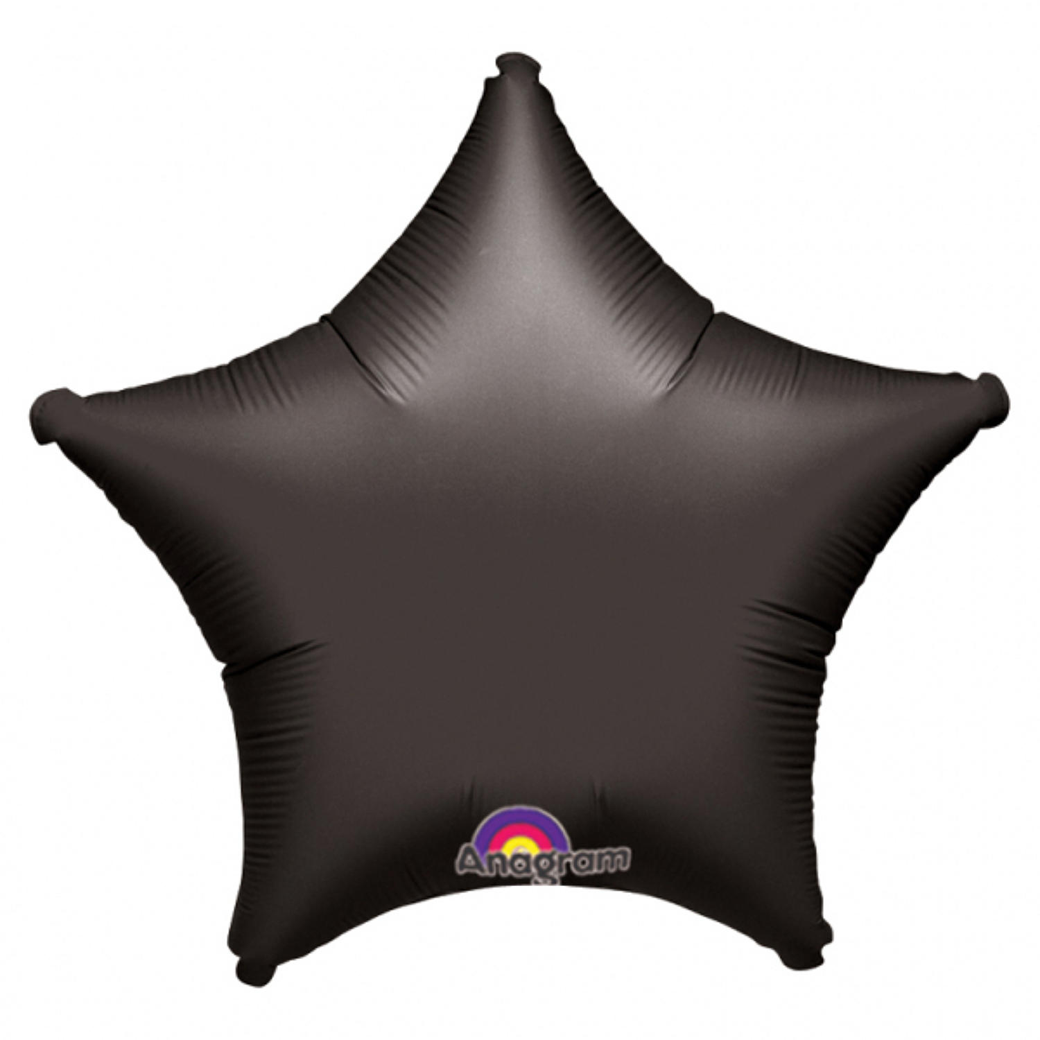 Black foil star balloon