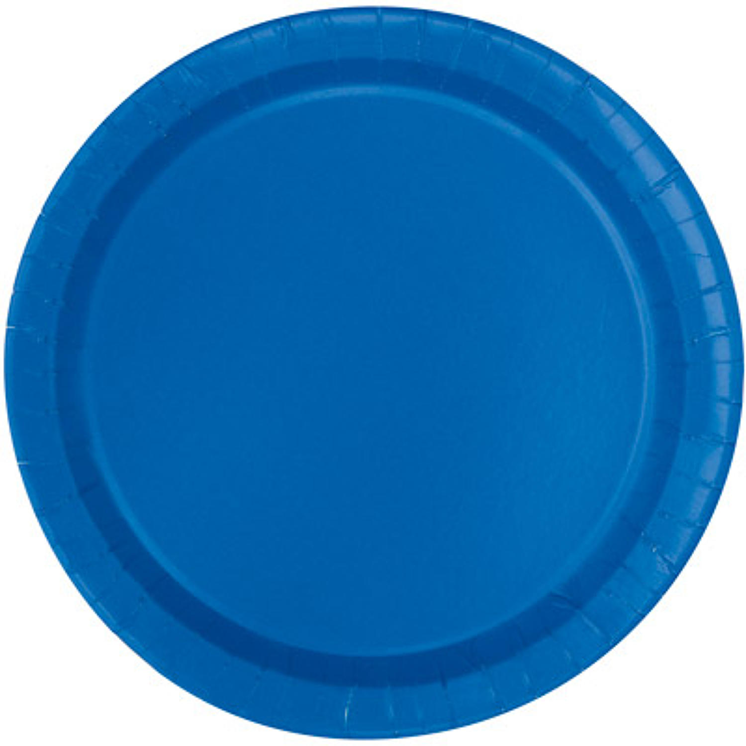 Royal Blue Paper Plates - 9