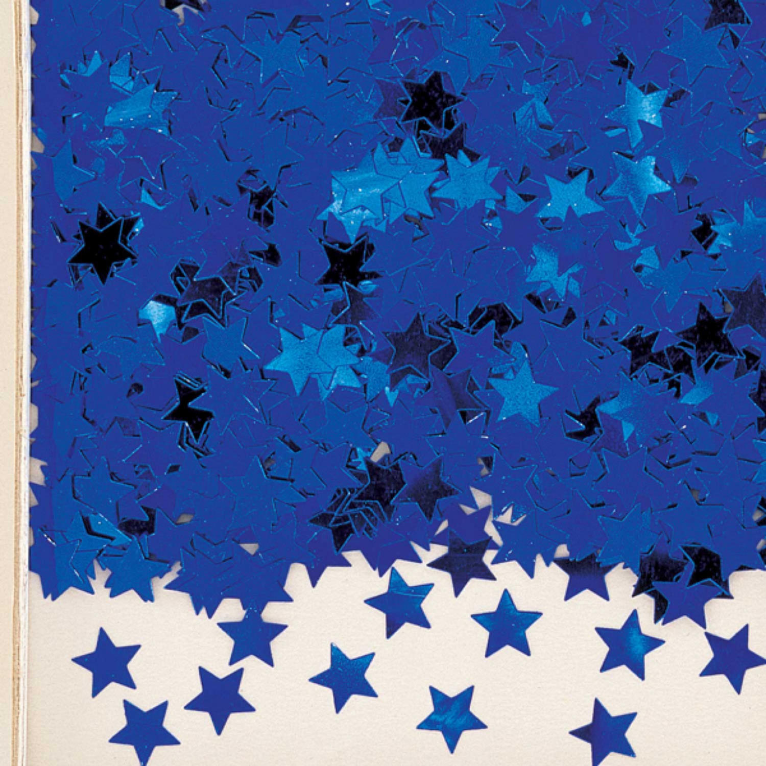Royal Blue star table confetti