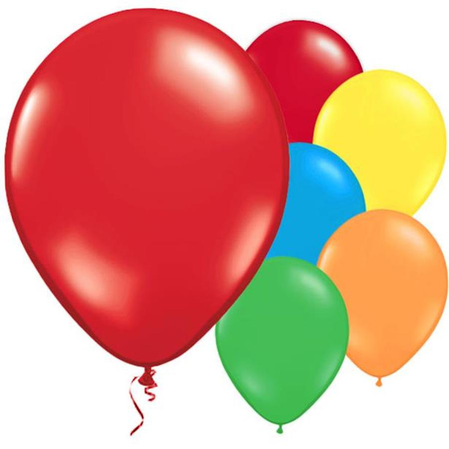 Assorted Metallic Latex Balloons