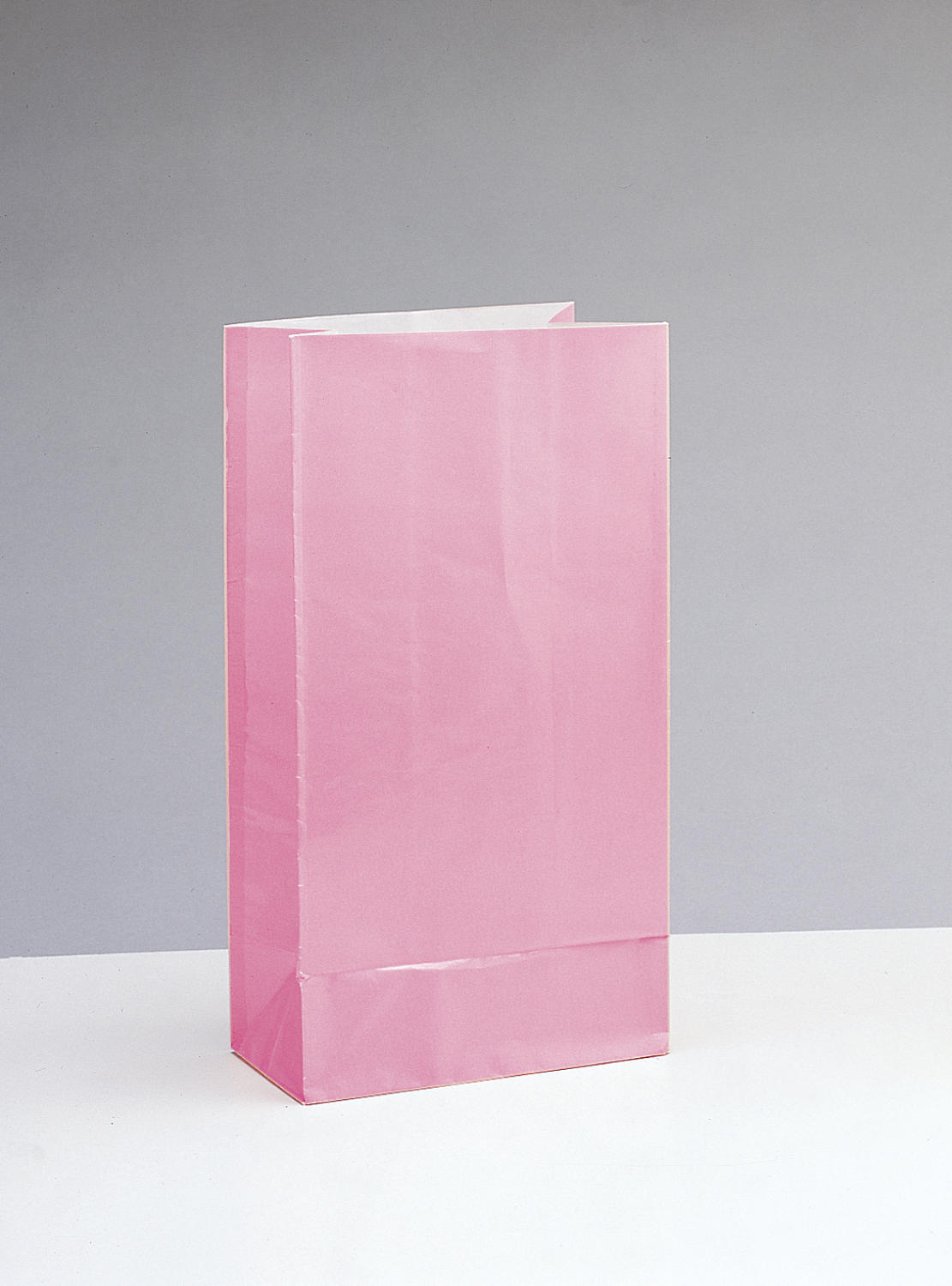 Pink Paper Party Bags