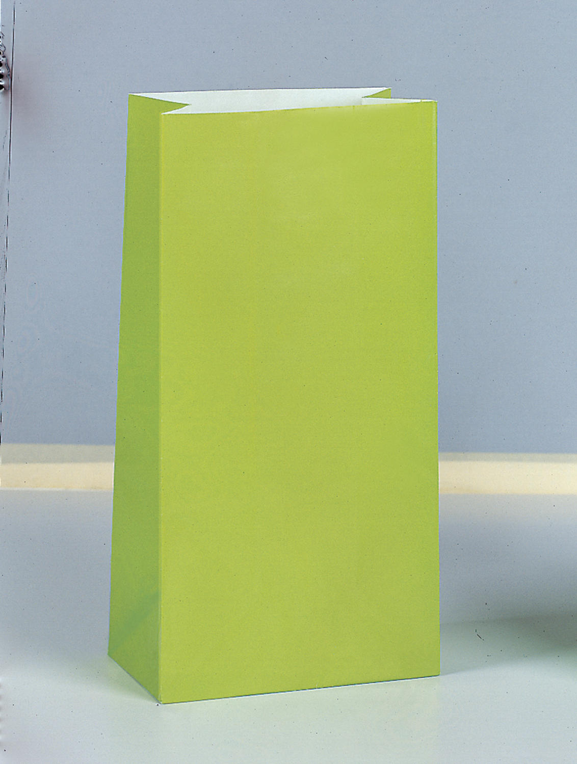 Lime Paper Party Bags