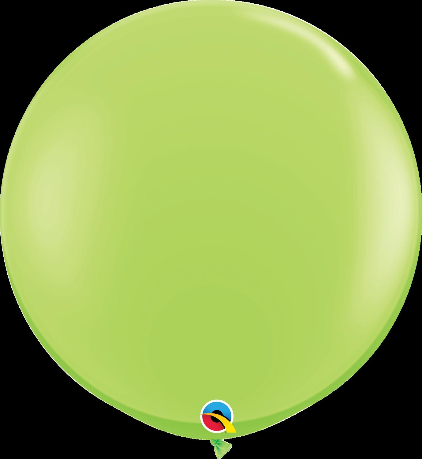 Giant Lime 3ft Latex Balloon