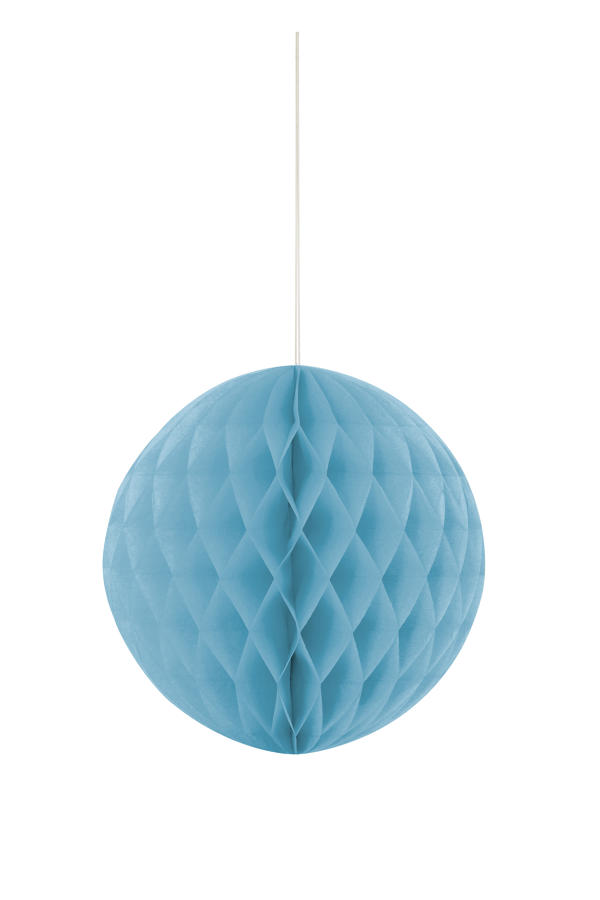 Large Honeycomb Ball Blue