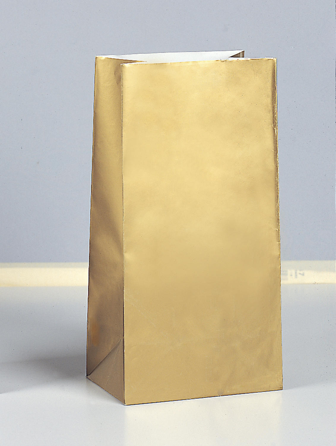 Gold Paper Party Bags
