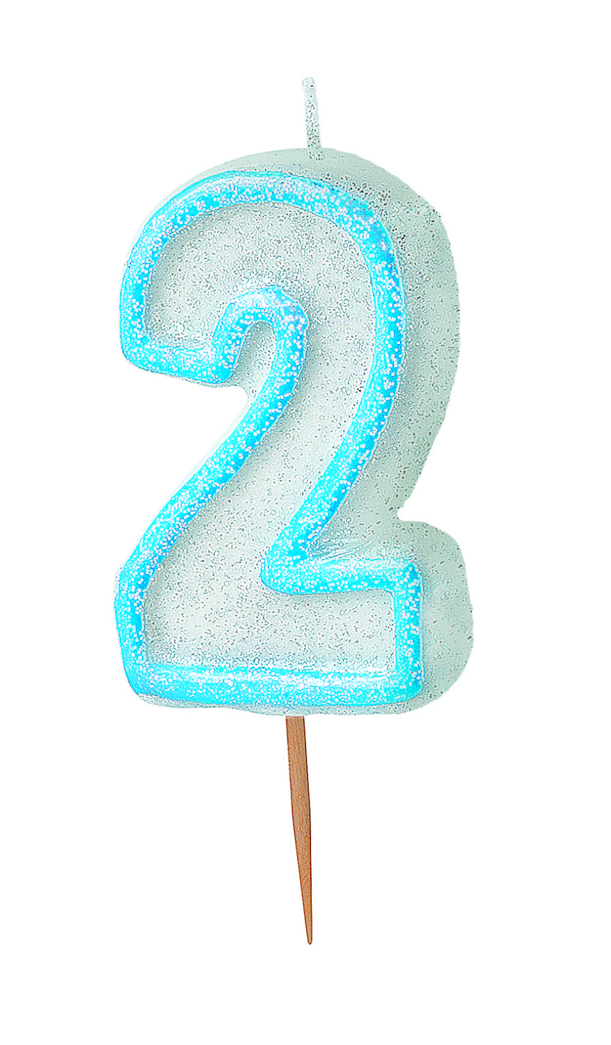 Blue no 2 Candle