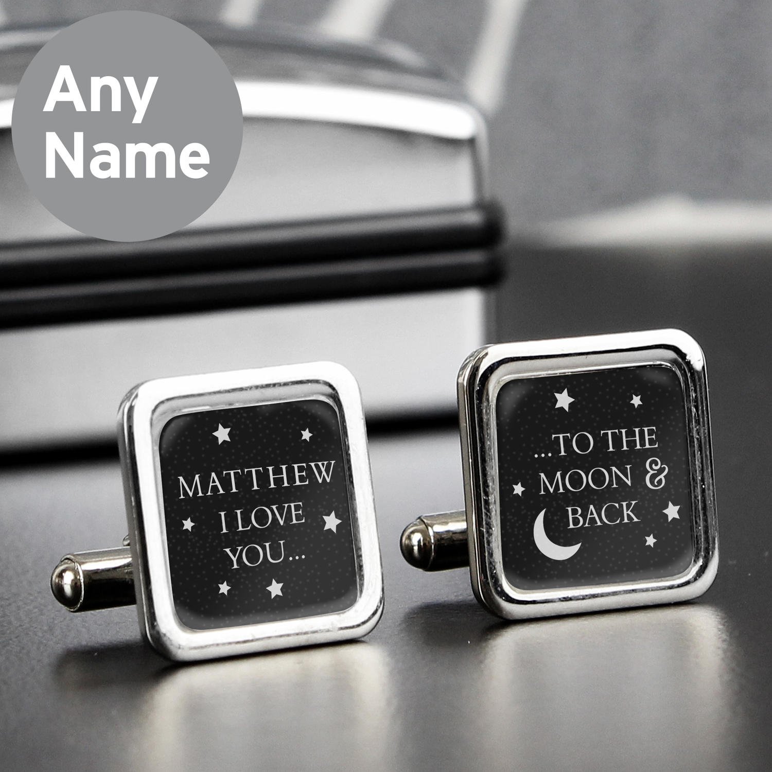 To The Moon and Back Cufflinks