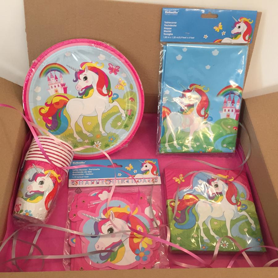 Unicorn party package